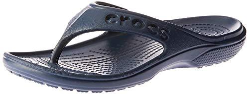 Crocs Baya Flip, Unisex - Erwachsene Zehentrenner, Blau (Navy), 36/37 EU