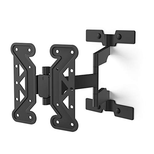 FULLMOTION Ultraslim - Soporte de Pared para televisor (200 x 200, 122 cm), Color Negro