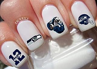 Best seahawks nail designs Reviews