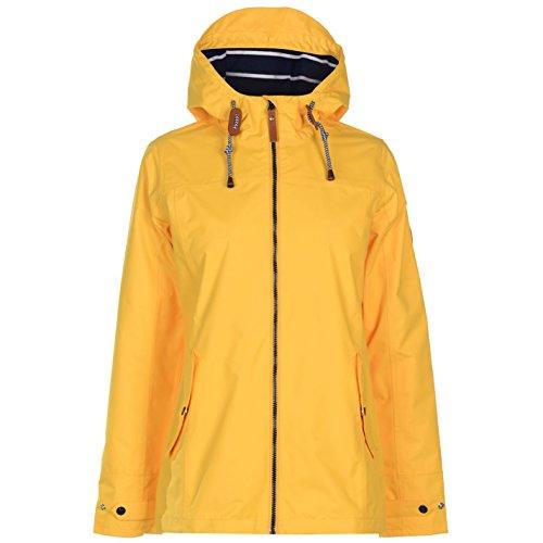 Gelert Damen Wasserdichte Jacke Kapuze Unifarben Gelert Gelb M