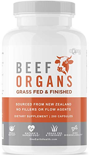 Top 10 best selling list for organ meat supplement for dogs
