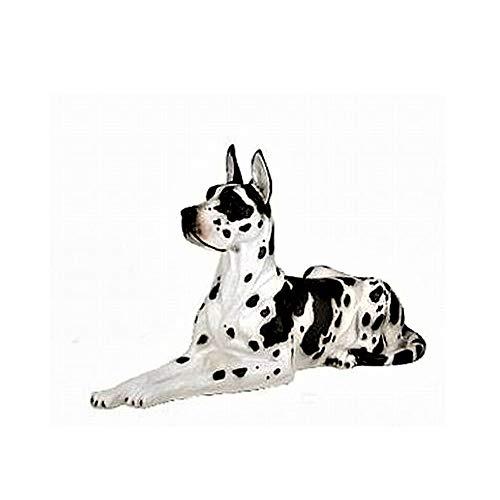 XXL Premium Dogge in lebensgross 90cm Hund Garten Deko Figur inkl. Spedition