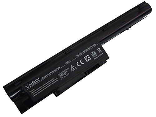 vhbw Li-Ion batterie 6600mAh (10.8V) pour notebook, ordinateur portable Siemens Lifebook comme CP477891-01, CP478214-02, CP477891-03.