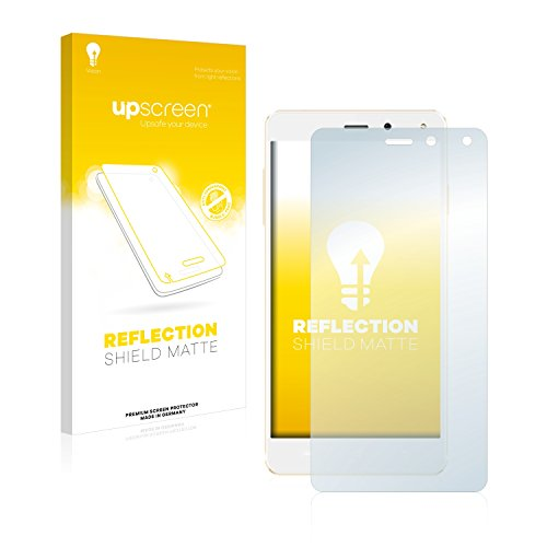 upscreen Entspiegelungs-Schutzfolie kompatibel mit Allview E4 – Anti-Reflex Bildschirmschutz-Folie Matt