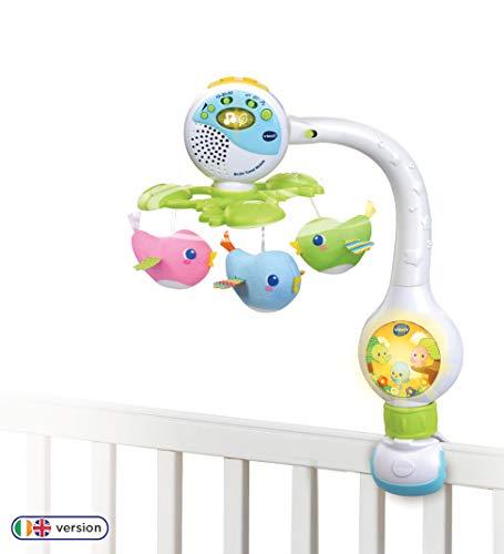 Vtech 513103 Birdie Travel Mobile Vorschul-Spielzeug, Mehrfarbig, 2.65 x 4.02 x 1.5 cm(WxHxD)