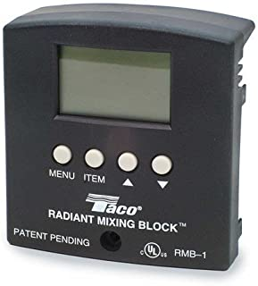 Radiant Mixing Block Control Panel