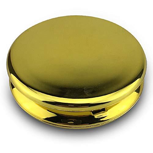 LXQ Automatische Pocket Klein kompas Openin2 Inch Feng Shui Puur Koper Klein Rond Kompas, Gossip Spiegel,