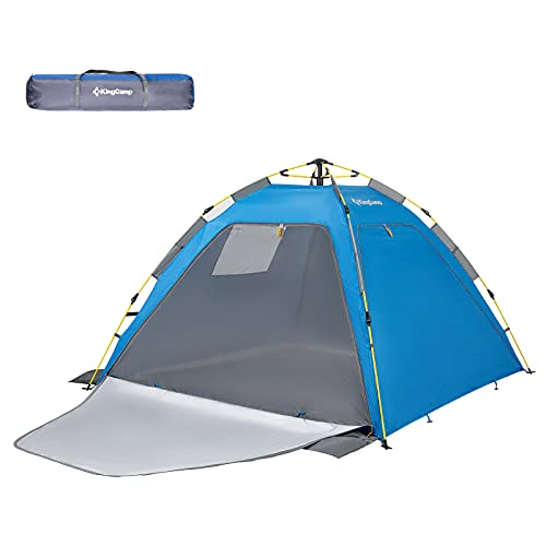 KingCamp Quick up 2-3 Person Camping Mesh Beach Tent