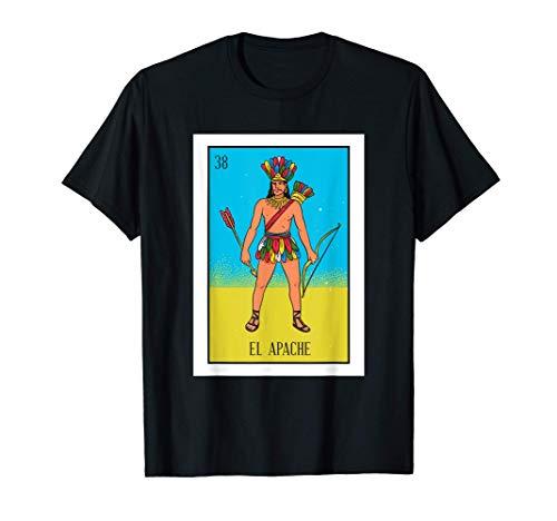 El Indio Lotería Regalo La Tarjeta India Lotería Mexicana Camiseta