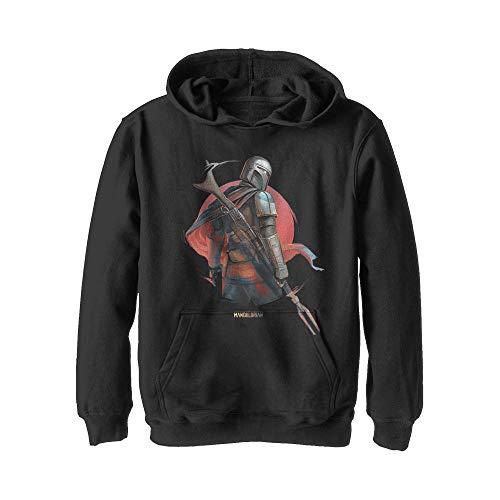 Star Wars Boys' Hooded Sweatshirt, Black, Small