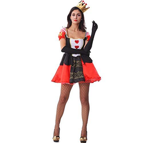 Cosplay Mujeres Sexy Gran melocotn corazn Reina Drag Party Queen Disfraz Cosplay Uniforme Disfraz de Halloween Desfile de Disfraces Carnaval Disfraces de Fiesta de Disfraces A XL