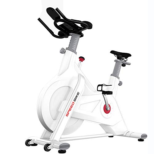 Best Bargain WDDMFR Exercise Bike, Indoor Cycling Bike Stationary, Comfortable Seat Cushion, Multi -...