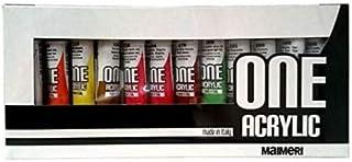 Industria Maimeri 1098012 Colori Acrilici 12 Colori Assortiti
