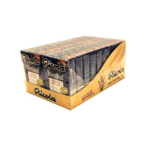 Ricola Menthol Bonbon 20 x 50g Packung (Zuckerfrei)