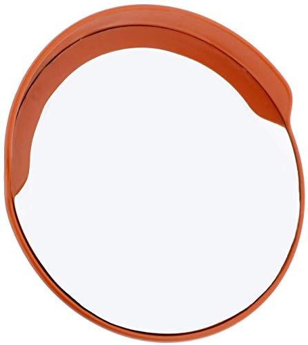 HQY Outdoor Traffic Hoeklens, Veiligheid Concave Spiegel Workshop met Verstelbare Muur Mount Premium Convex Spiegel Grote Ronde Buitenspiegel Blind Spot Spiegel 100cm