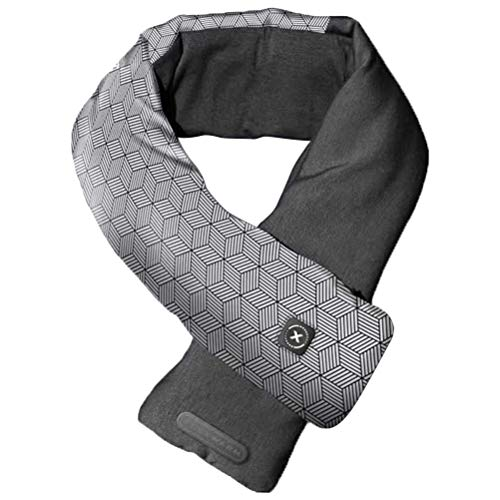spier Heated Scarf, Usb Heated Scarf Pain Relief Winter Ski Camping Neutral Scarf Heated Pads, Winter Warmth And Windproof