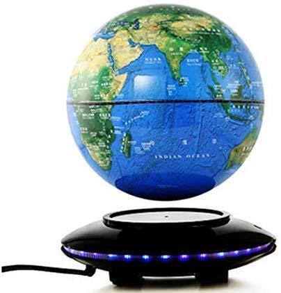 JJDSN Magnetic Globe Levitation Lamp 360 graden drijvende wereldkaart, decoratie, festival, verjaardagscadeau voor kinderen, onderwijs, 5 inch, A