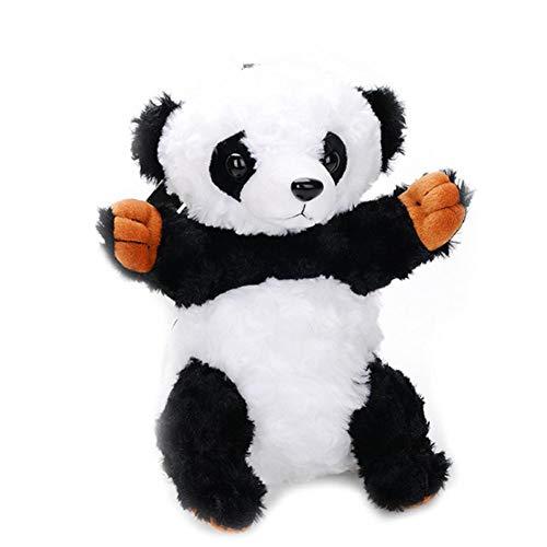 Women Girls Boys Panda Plush Satchel Bag Adjustable Cartoon Sling Bag Animal Shape Shoulder Bag for Toys Children's Gift