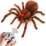 BNLLD Remote Control Spider Realistic Wireless RC Tarantula Prank Toys Remote Control Toy Moving Pet Toy Pranks for Kids Birthday Fool Day Halloween Gags & Practical Joke Toys