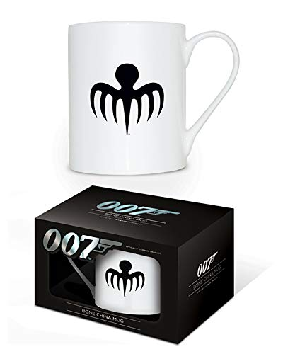 James Bond MGBC23558 (Spectre Octopus Logo) Bone China Mug, Céramique, Multicolore, 11oz/315ml