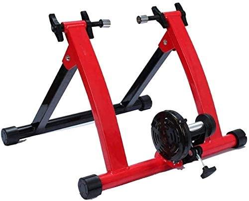 YQTXDS Bike Trainer Turbo Trainer Bike Turbo Trainer Soporte de Ciclismo magnético, estación de Bicicleta Estable de Alta Resistencia (Entrenador de Bicicletas)