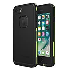 Compatible with iPhone SE (2nd gen - 2020) and iPhone 8/7 (NOT PLUS). Images shown on iPhone 8. iPhone SE (2nd gen - 2020) does not show Apple logo. FRĒ: Built-in scratch protector is virtually invisible to the eye and touch; full access to buttons ...