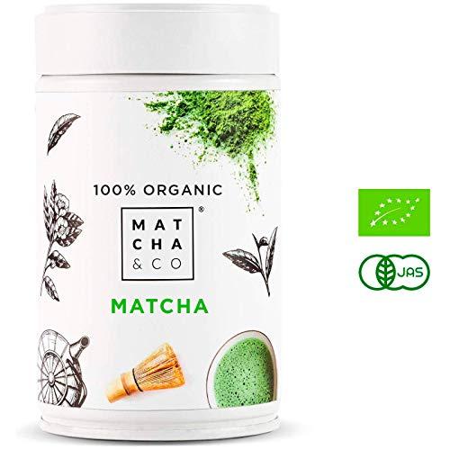 Matcha 100% Ecolgico (80 g) | T verde en...