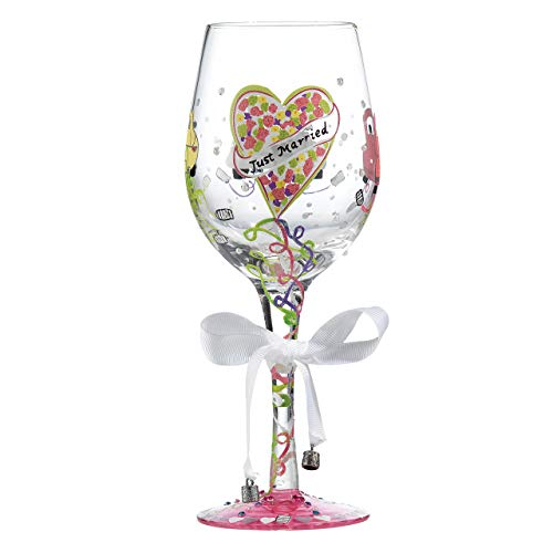 Lolita, Copa de vino con motivos de 'Just Married', Enesco
