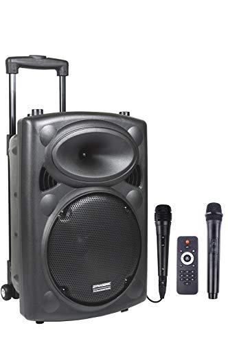 DYNASONIC - Dynapro 10 - Haut-Parleur sans Fil. Système Audio et Amplificateur Professionnel et...