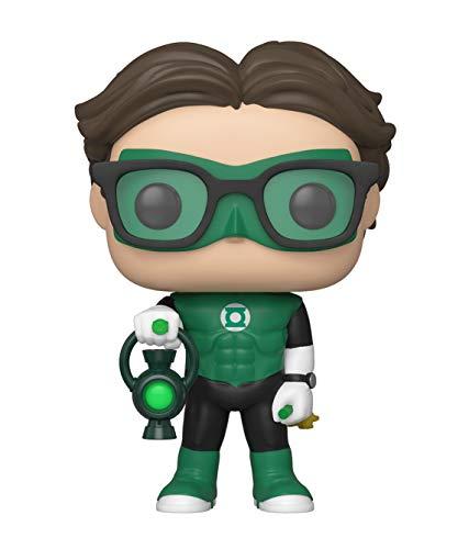Big Bang Theory Funko Pop Television 836 The 41708 Leonard Green Lantern SDCC2019