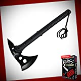 New Defender 15' inch Black Tactical Axe Pick Axe Head Stainless Steel LW-0925sd + Free eBook