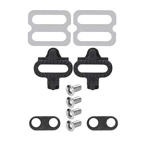 Voluxe Set di accessori per bicicletta, in acciaio, per mountain bike, set universale per mountain bike, accessori per pedali SPD PD-M520 M540 M324 M545 M424 M647 M959