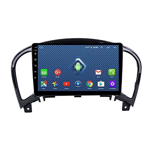 Android 8.1 Autoradio per Nissan Juke 2004-2016 Car Stereo GPS Navigazione Touch Display Auto Media Player Doppia DIN Head unità Supporto WiFi Controllo Volante(Color:WiFi:1+16G)