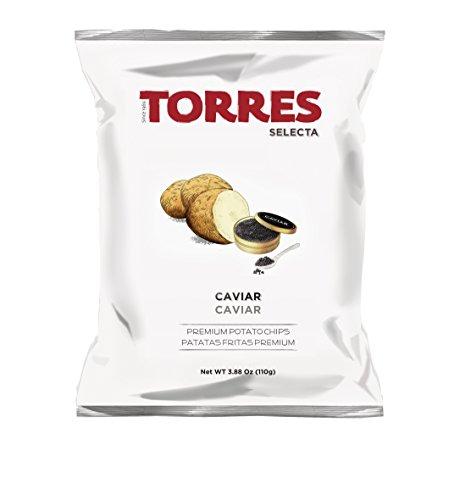 Torres - Kartoffelchips Kaviar - 110 gramm