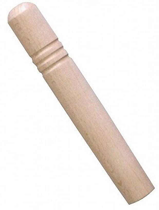 王子スラム街振動させるアカオアルミ DON雪平鍋用ハンドル 木柄 20~23cm用 ビス付