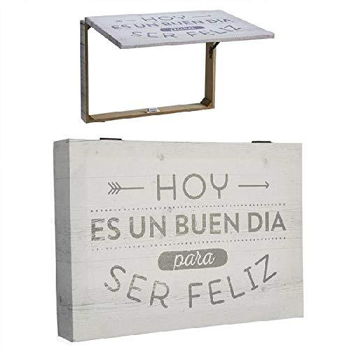 Dcasa Tapa Contador Ser Feliz Decorativas de Ventana Muebles Pegatinas Decoración del hogar Unisex Adulto, Color, única