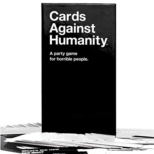 XZHU Cards Against Humanity, Horror Character Party Game, Fun Adult Board Game Family Party Game Christmas Party Card Game