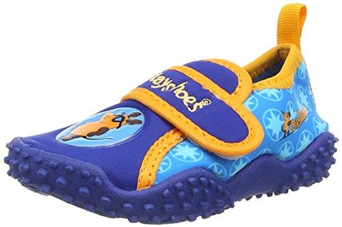 Playshoes Jungen Aqua-Schuhe Die Maus, Blau (original 900), 22/23 EU
