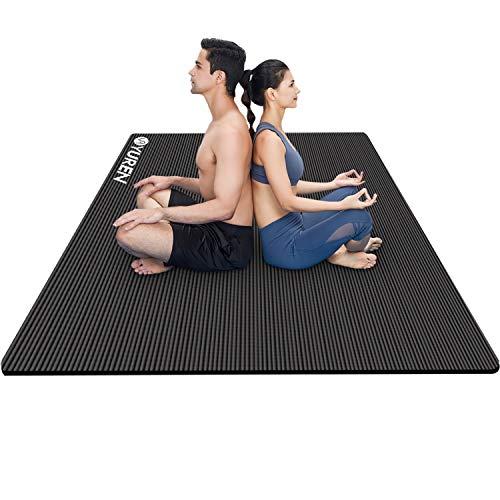 of exercise mats YUREN Large Yoga Mat 78