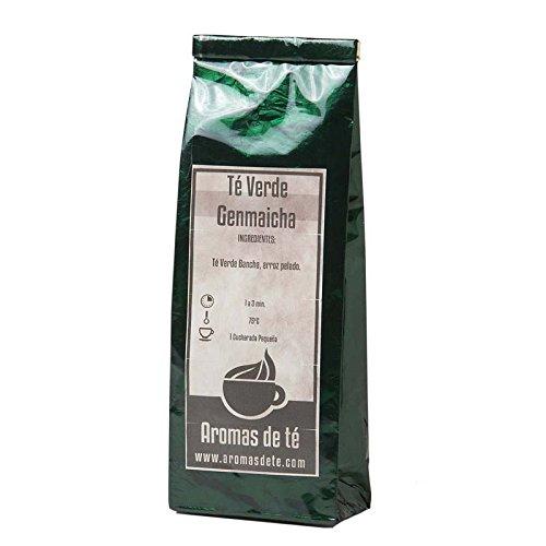 Aromas de Té - Té Verde Japonés Bancha - Té Verde Genmaicha...