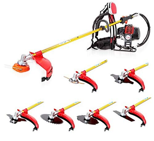 Cheapest Price! Lidetools Brush Cutter Knap-Pack Grass Trimmer Sting Trimmer with Several Metal Blad...