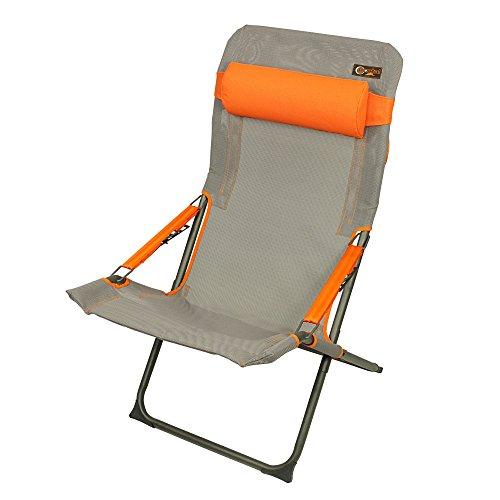 Portal Eddy XL Campingstoel, klapstoel, tuinstoel, relaxstoel, ligstoel, hoofdkussen