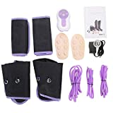 Wandisy Masajeador de piernas de compresión de Aire, envolturas de piernas de circulación eléctrica para Terapia de pantorrillas en los Tobillos del pie(EU)