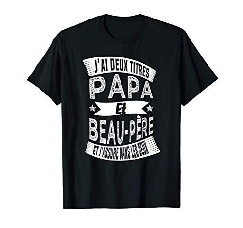 Joyeux Noël Drôle Cadeau Pour Papa Et Beau-Père T-Shirt