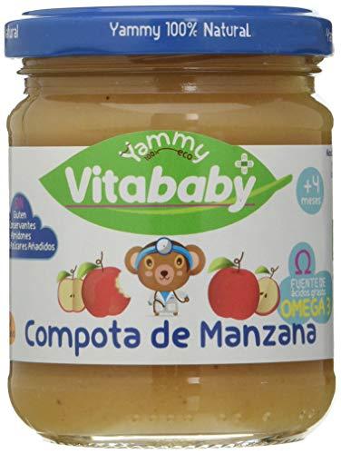 Yammy Potito De Compota De Manzana+Omega 3 Ecológico 195Gr X 6 Uds 4M+ 6 Unidades 195 g