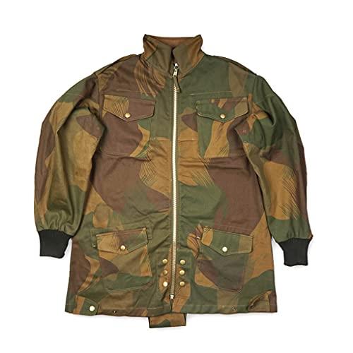 JXS Uniforme de Paracaidista británico, réplica del Uniforme de Oficial aerotransportado británico, Chaqueta británica Vintage, Uniforme de Recuerdo de la Segunda Guerra Mundial,XXL