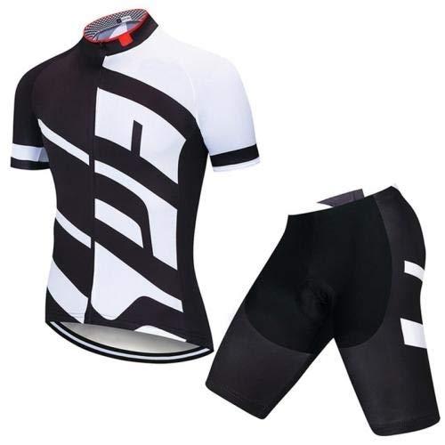 LLYY Conjunto Ropa Equipacion Traje Ciclismo Hombre para Verano, Culotte Ciclismo Culote Bicicleta,Ropa Ciclismo para Hombre Ciclismo Maillot y Culotte Pantalones Cortos (Color : 7, Size : XL)