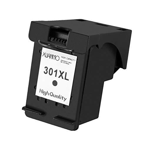 Ballylelly para HP 301 Cartucho de Tinta de Repuesto Cartuchos de Impresora de inyección de Tinta para Impresora Deskjet 1050A Resistente al Agua Fácil de Usar No OEM