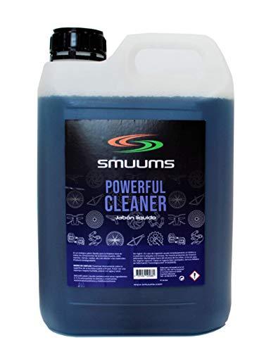 SMUUMS Bike - Limpiador de Bicicleta Biodegradable con pH Neutro para Cuadro y Todos los componentes de 5 litros.
