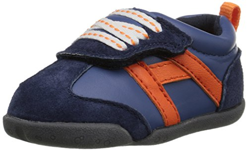 Carter's Every Step Stage 2 Boy's Standing Shoe, Oldie(Infant/Toddler), Navy, 3.5 M US Toddler